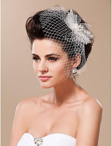 Прически свадебные с вуалью